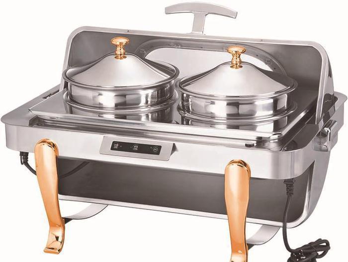 商用厨房自助餐设备精工触动可视宴会餐炉M系列