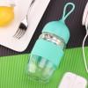 韩版创意小水滴玻璃水杯防爆高硼硅玻璃女生杯个性情侣杯一件代发