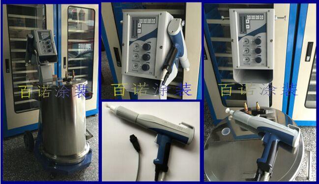 手动静电喷枪粉体静电喷涂机静电喷塑机