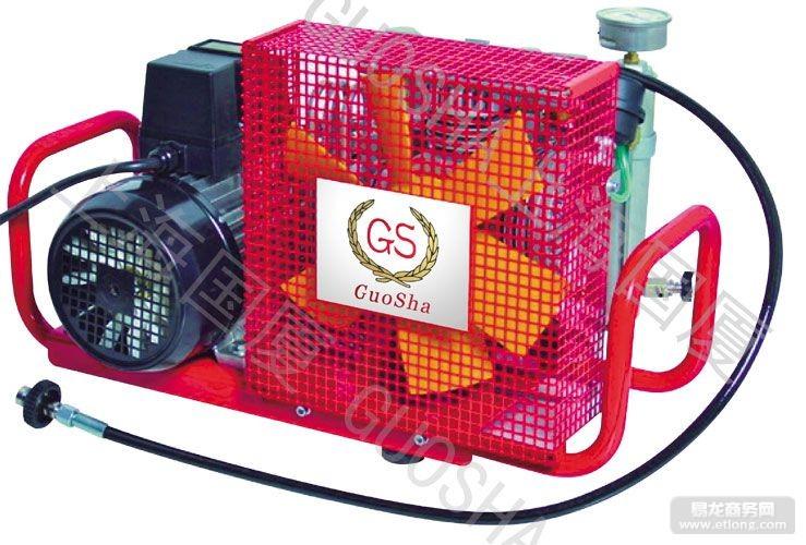 大排量呼吸空气压缩机/大流量消防呼吸空气压缩机