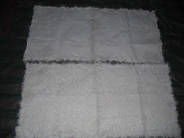供应各种羊皮褥子獭兔褥子