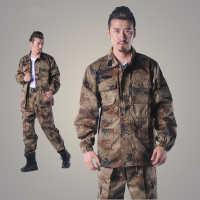 批发精仿07荒漠冬迷彩服作训服套装户外特种兵迷彩服加厚耐磨