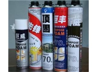 聚氨酯泡沫填缝剂厂家云控供聚氨酯泡沫填缝剂厂家直销价格低