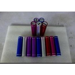 圆柱移动电源铝合金移动电源单节18650移动电源礼品移动电源
