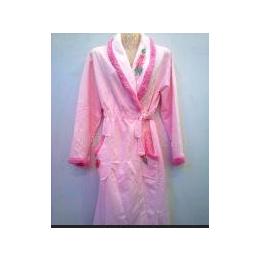 批发女式睡袍韩版长袖睡袍睡衣性感睡袍迪亚斯