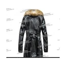 专业生产跑江湖皮衣厂家江湖女士皮衣PU皮衣中长款女式皮衣