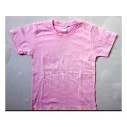 广州180克纯棉童装空白T恤(可加印图案)