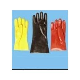 PVC手套,PVC浸砂手套,耐磨PVC手套,直筒PVC手套