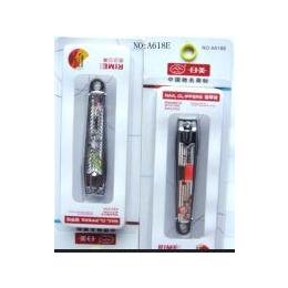日美A618E指甲刀独立吸卡彩色指甲刀不锈钢指甲钳美甲工具