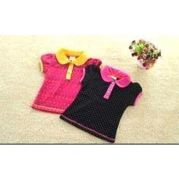 高档日韩原单幼儿童装纯棉短袖衬衫2011男女小童装上衣