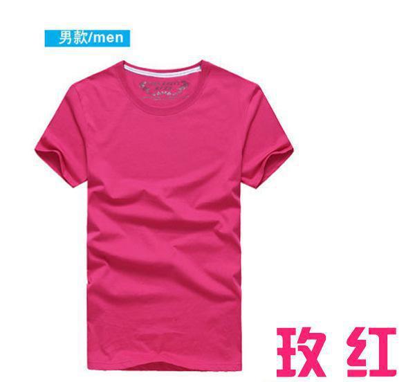 厂家直销2017夏季新款短袖t恤韩版修身情侣半袖上衣衫潮