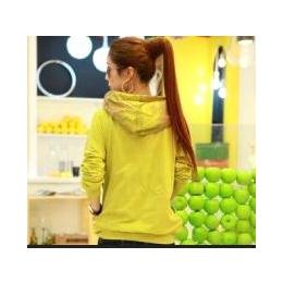 2013秋装新品外套女韩版外套春秋学生卫衣韩版带帽卫衣潮