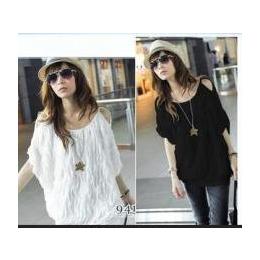 2013新款夏装大码女装短袖t恤韩版宽松T恤蝙蝠衫长款t恤优质品