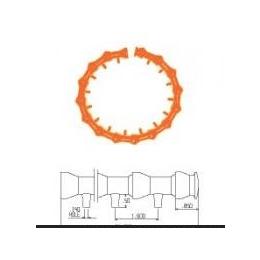 美国LOC-LINE圆形喷嘴冷却管