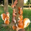 上海雕塑厂家直销道路景观松鼠树脂雕塑定制玻璃钢雕塑