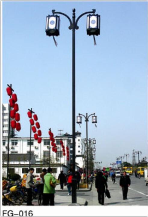 扬州市万源照明农村太阳能路灯太阳能路灯仿古灯07