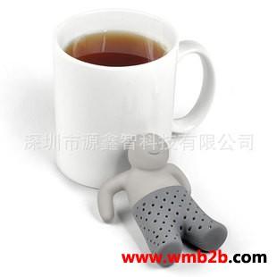 泡茶器茶先生泡茶器茶先生泡澡小人泡茶器滤茶器茶包礼品