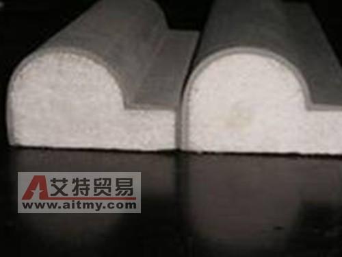 生产出来的GRC线条产品