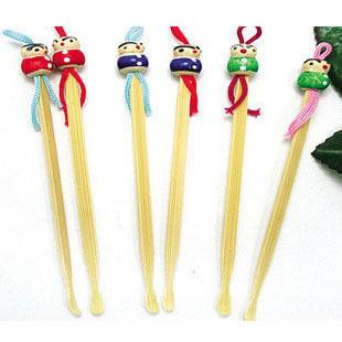 可爱的木质耳勺掏耳朵的传统用品挖耳勺洁耳器