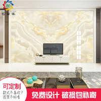 客厅电视背景墙瓷砖 3d微晶石内墙砖 高端大气大理石纹 厂家定制