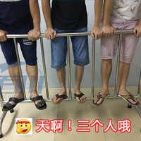 市政道路护栏不锈钢铁马惠州东莞围栏移动脚可定制变角度展览铁马