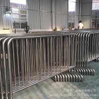东莞深圳地铁304不锈钢护栏物业管理铁马可按要求订制车站围栏