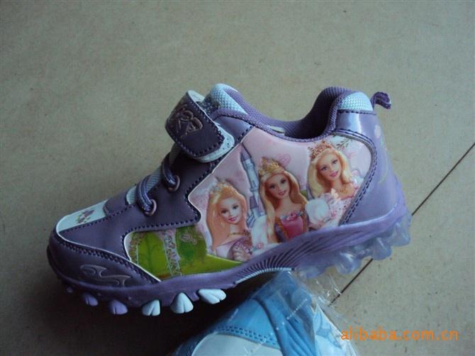 芭比童鞋 儿童运动鞋 外贸童鞋