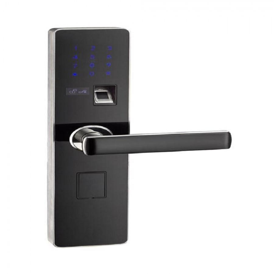 微信全自动智能锁招商 高端手机指纹锁加盟 广州菲达斯电子科技