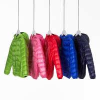 2017春秋冬新款儿童羽绒服短款轻薄款羽绒服外套亚马逊速卖通热卖