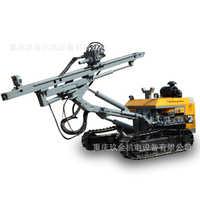 红五环履带式潜孔钻车H430柴动自行式液压钻孔设备