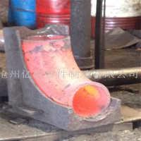 厂家供应 90度变径弯头  45°焊接变径 碳钢异径弯头