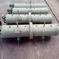 厂家定制船用海水冷凝器列管式油冷器海水加热器盐水冷却器