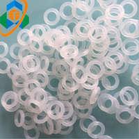 透明硅胶圈 防水密封圈 食品级硅胶O型圈 橡胶/密封圈 规格齐全