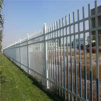 直供 锌钢防撞栏 铁艺围栏 热镀锌庭院栏杆护栏 隔离围栏