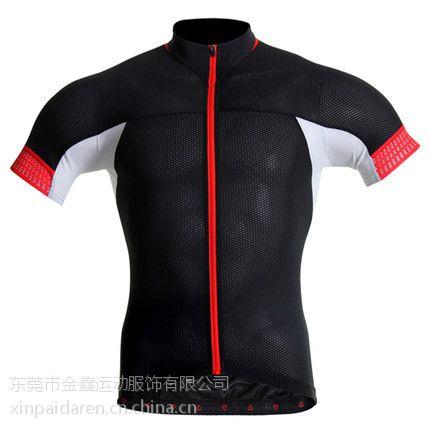 XP004夏季男式短袖自行车骑行服装 单车服男 纱羽