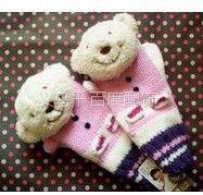供应围巾帽手套袜子毛巾耳罩等优质毛绒卡通动物头挂件配件厂家直销
