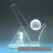 供应水晶奖杯 CJP-007
