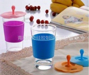 青岛硅胶制品,供应硅胶杯套,硅胶杯套杯盖,硅胶厨房日用品,环保厨房用品