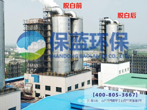 电磁脱白 焦化厂脱白 烟气消白设备 山东保蓝环保