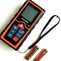 手持式语音测距仪 长距离激光红外线测距仪 超声波数显测距仪