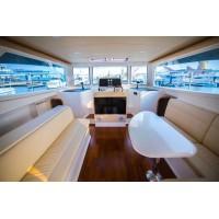 澳洲引进国产佳作38尺豪华商务舱 双体游艇