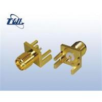 SMA连接器 转接头/四孔/法兰/天线座-射频连接器厂家