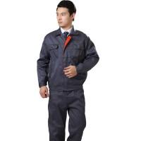 夏季工作服夏装短袖工作服夹克式工作服企业团体工作衣
