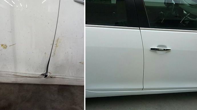 南京汽车局部喷漆局部做漆补漆全新全翼