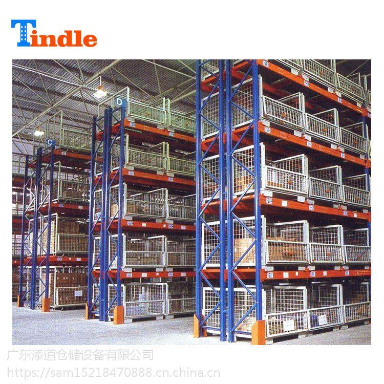广州仓储货架工厂直销仓库横梁式托盘货架定做承重1000kg重型货架