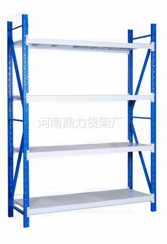 供应河南郑州仓储货架轻型货架zhj-005每层承重100公斤