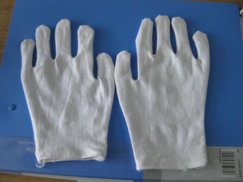 供应拉架纯棉手套具有防滑,防耐磨等功能