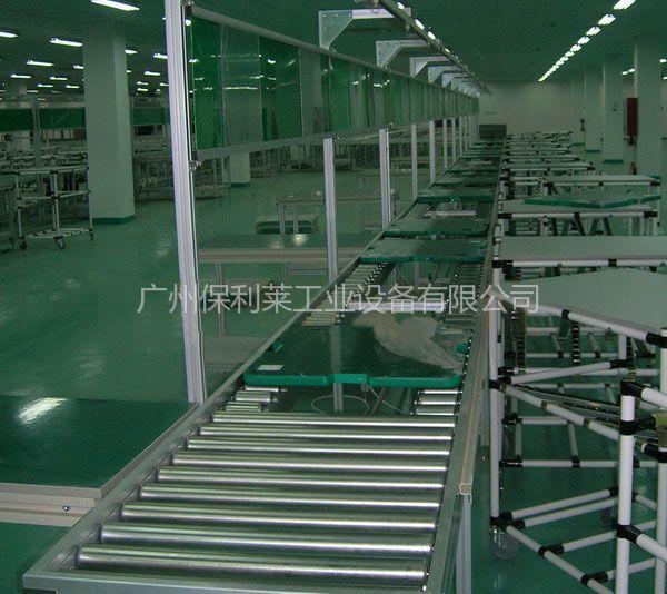 供应广州电子产品生产线供应防静电耐用不锈钢工作台