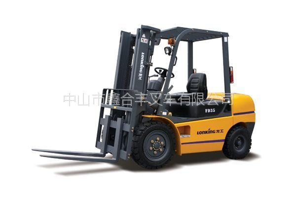 供应龙工FD35内燃平衡重柴油叉车