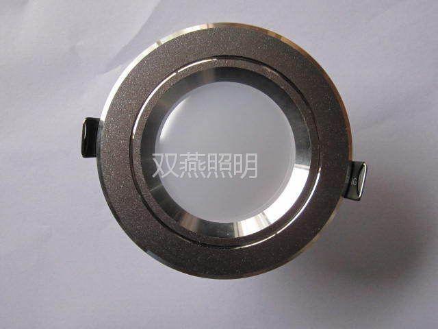 供应高品质高亮度低光衰超长寿命LED筒灯2.5寸3W厂家直销质保两年